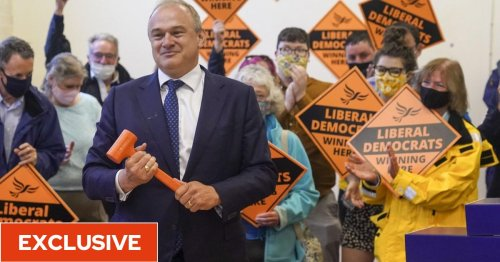 Lib Dems start picking 'blue wall' candidates for next election to keep up pressure on Tories