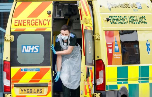 Warning that hospitals are at breaking point as Covid admissions keep rising