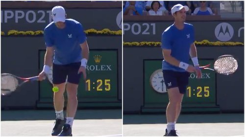 Murray defends controversial serve despite boos at Indian Wells as Kyrgios backs him