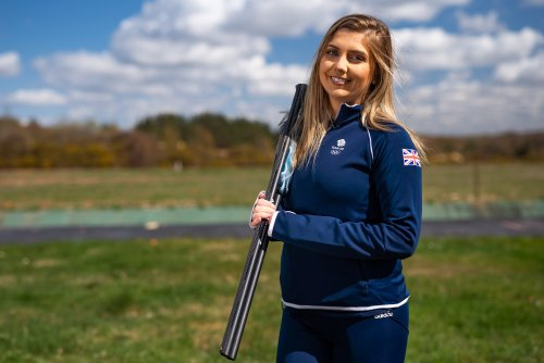 How Team GB's shooting star Amber Hill has beat the boys on her way to the top