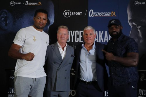 Boxing Tonight: Joyce on the path to a title shot but first Takam stands in his way