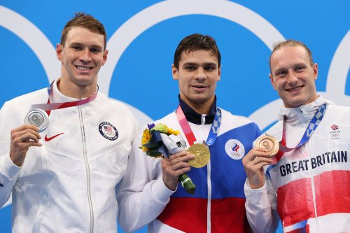 Doping cold war breaks out in pool between US and Russia as Team GB's Greenbank wins bronze