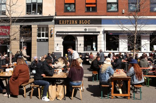 Pubs and restaurants see boost in business after opening with sales up 45% against last summer