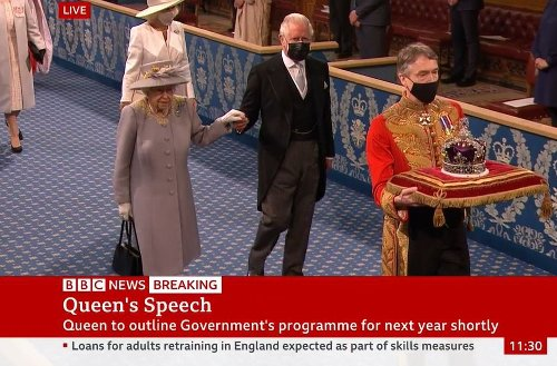 Queen carries out first major engagement after Philip's death at State Opening of Parliament
