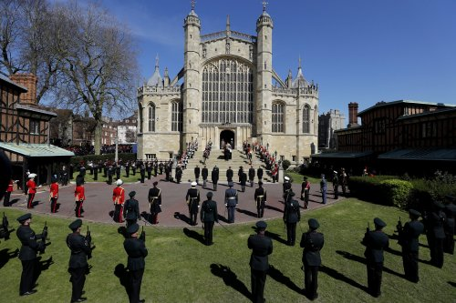Moving pictures from Prince Philip's funeral as royals bid farewell to Duke of Edinburgh