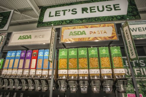 Asda to expand refill scheme allowing shoppers to use bottles and jars from home