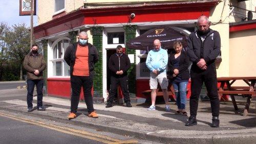 Duke of Edinburgh pub drinkers celebrate life of Prince Philip with a minute's silence