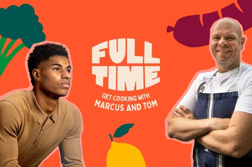 Everything you need to know about Marcus Rashford and Tom Kerridge's Full Time recipes project