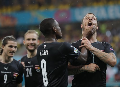Uefa hand Arnautovic Euro 2020 ban after 'insulting' celebration against North Macedonia