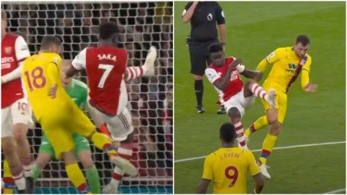 McArthur 'should have been sent off' for 'strange' foul on Arsenal's Saka