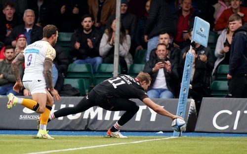 Saracens' Malins is knocking on England's door with 16 tries in last 11 Premiership appearances