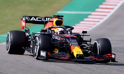 Verstappen holds off Hamilton to double lead in title race after tense finale at US Grand Prix