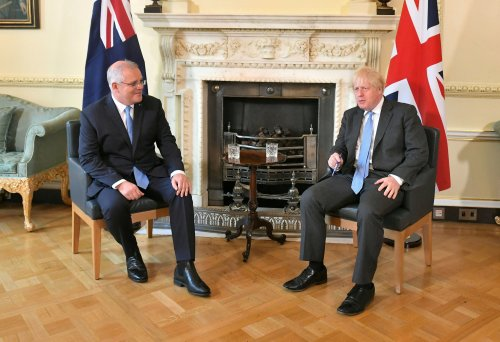 The agreement of a UK-Australia trade deal marks a significant milestone in post-Brexit politics