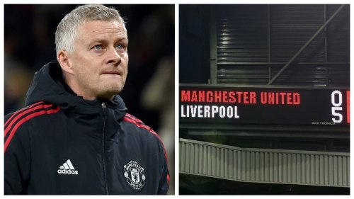 When Liverpool fans are chanting Solskjaer's name, you know it is the end for the Man Utd boss