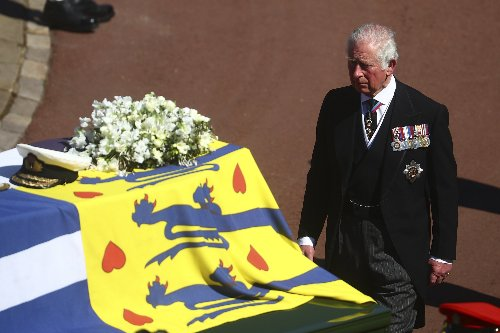 The meaning of the flag draped over Prince Philip's coffin