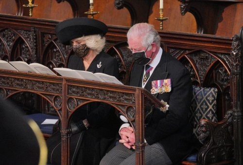 How Camilla's brooch was personal tribute to Prince Philip