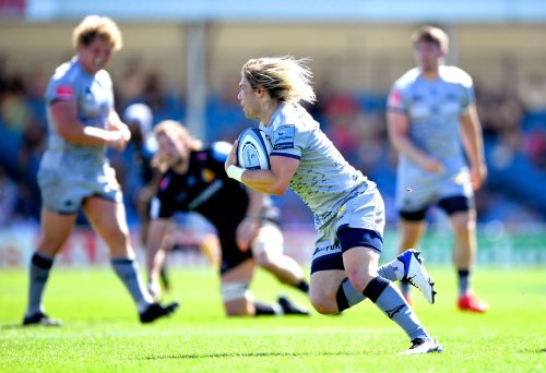 Sale eye Exeter upset by letting De Klerk be 'his unicorn self', says coach Sanderson