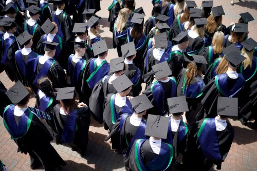 Will switching to a graduate account help reduce my son's overdraft debt?
