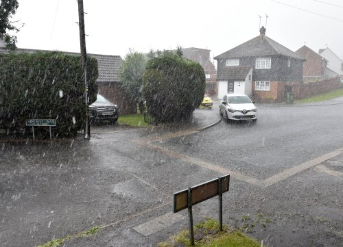 Storm Evert map and forecast – and how long Met Office warnings are in place