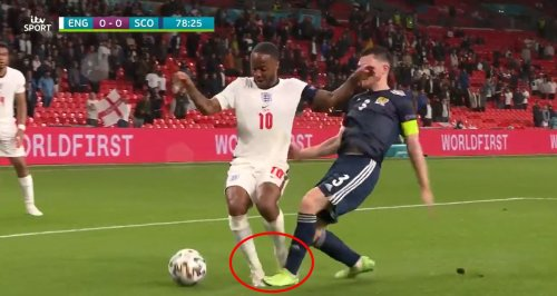 Should England have had a penalty? 'Tiny trip' not enough for referee in Scotland clash
