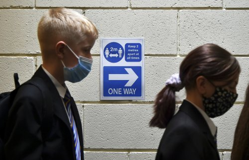 'Mental health pandemic looming' for children in the UK, charity warns
