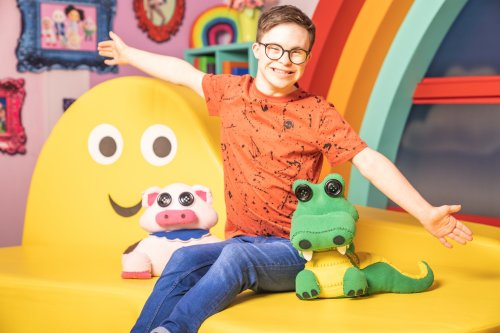 My child has Down's syndrome, her joy seeing George Webster on CBeebies matters