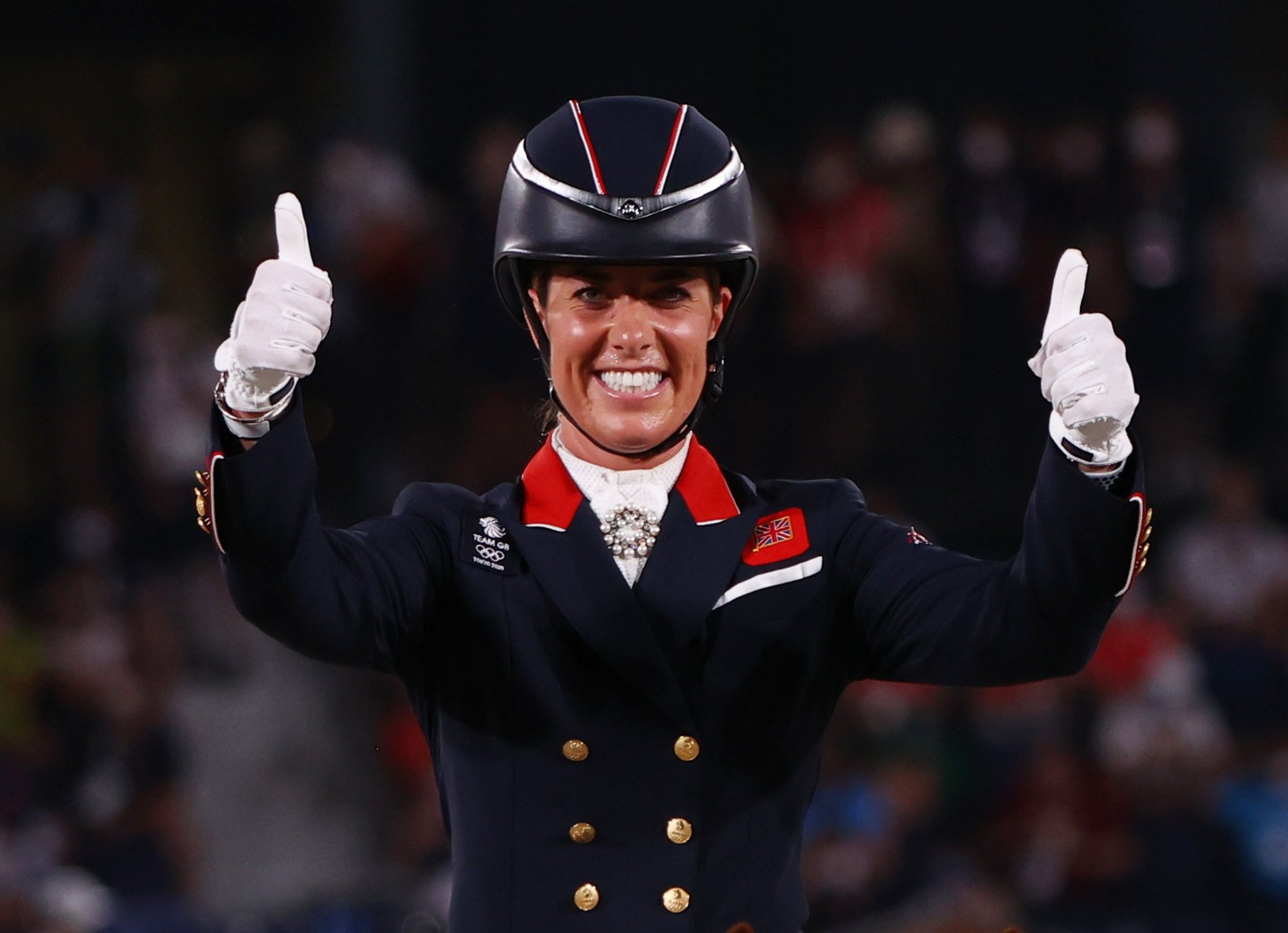 Charlotte Dujardin wins bronze in dressage to become Team GB's most decorated female Olympian
