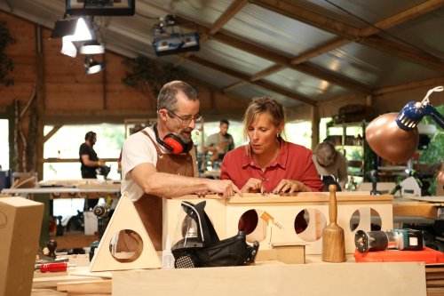 On TV tonight, the Handmade carpenters build houses and furniture - for dolls