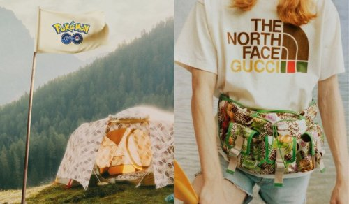 The North Face x Gucci Exclusive Collab With 'Pokémon GO'