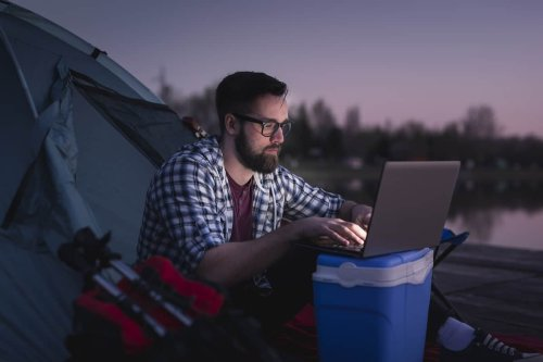 How to Work Remotely When Camping