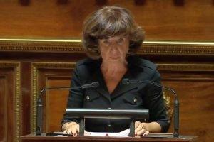 La sénatrice du Bas-Rhin contre la vaccination autoritaire