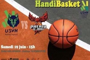 Handisport : match de basket samedi à Vandoeuvre-lès-Nancy
