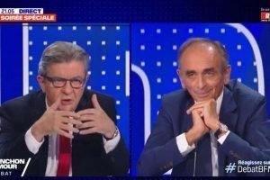Mélenchon vs Zemmour : Un débat sans concessions