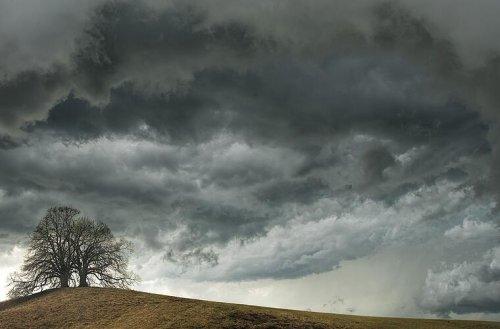Weitere Gewitter und Starkregen im Anmarsch: Kaltfront am Wochenende in Franken erwartet