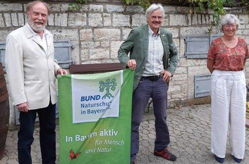 Bayerischer BN-Vorsitzender Mergner bei Versammlung in Kitzingen
