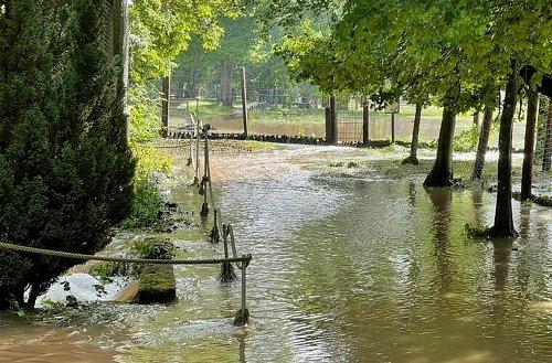 Tambach: Wildtierpark komplett geflutet - Schwere Schäden nach Unwetter