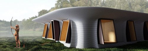 Self-sustaining 3D-printed house harnesses the power of nature