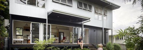 A sustainable, zinc-clad family home on a budget in Australia