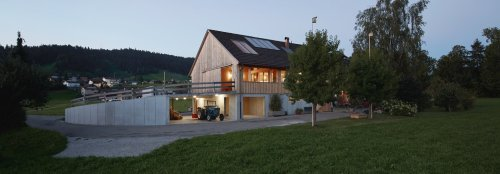 An airy multigenerational home shows adaptive reuse done right