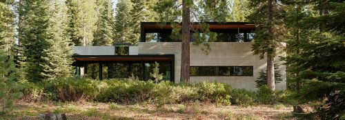 Energy-efficient Forest House minimizes its impact in California
