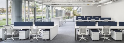 A campus building is designed to reduce stress from California's car culture