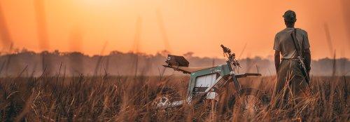 Kalk anti-poaching e-bikes join the battle in the African bush