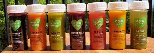 So Good So You delivers organic, vegan nutritional support in a shot-sized serving