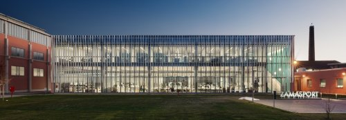 Solar-powered Zamasport HQ produces over half of its energy needs