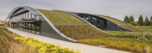 Green-roofed CABI HQ champions biodiversity and energy efficiency