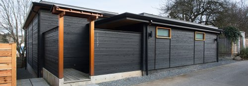 This backyard cottage in Seattle is only 800 square feet