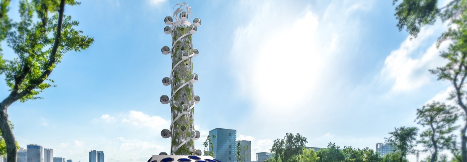 """""""Climate-neutral"""" Spiral Tower lets you see the city from new heights"""