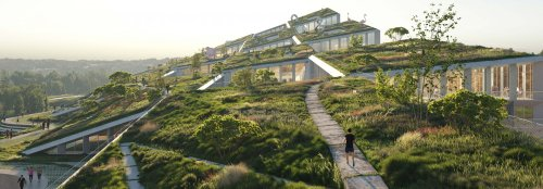Innovative biophilic design planned for new village in Portugal