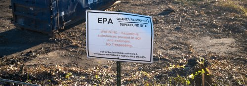 Living near Superfund sites could shorten life expectancy by 1 year