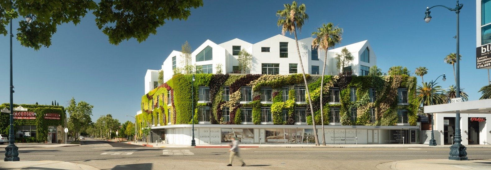 Gardenhouse in Beverly Hills boasts one of the nation's largest green walls